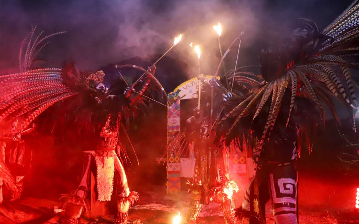 Festejan Ecatepec 500 Años de la Resistencia Indígena