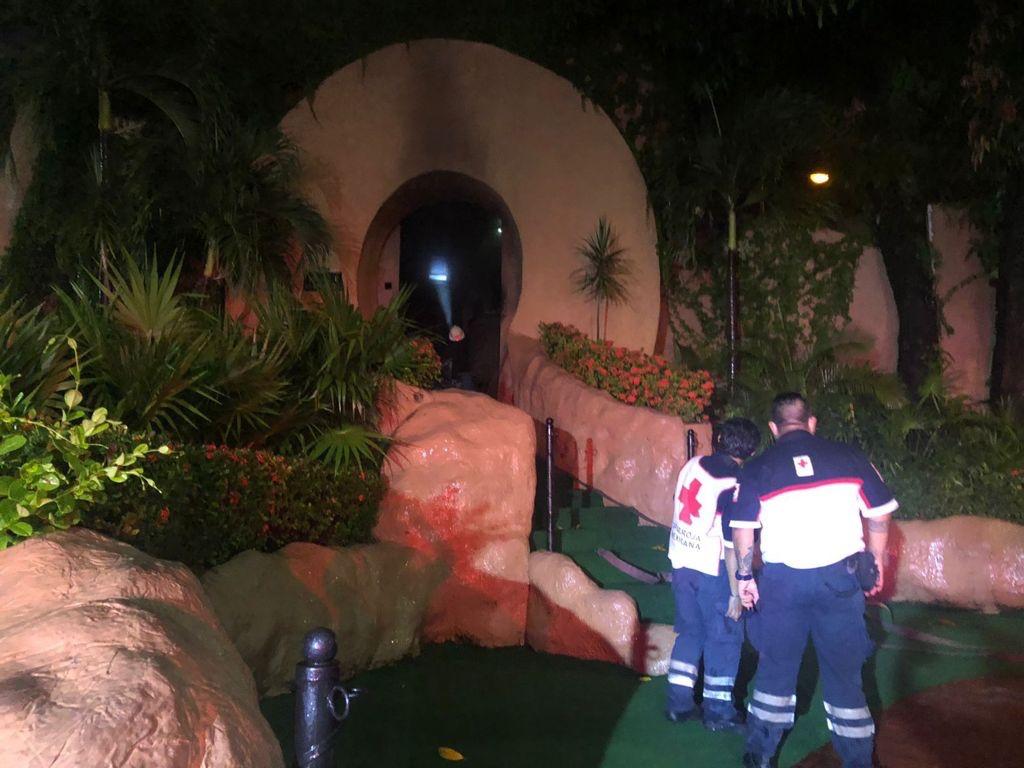 #Video Se incendia la mítica discoteca Baby'O de Acapulco