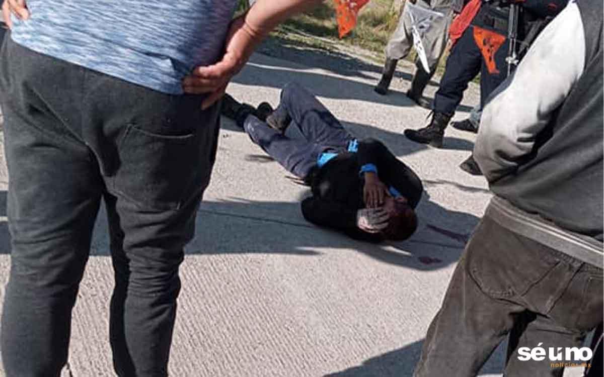 Intentó asaltar a una abuelita y estuvo a punto de ser linchado