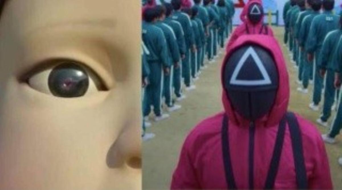 """Crean piñata y pastel de """"El juego del Calamar"""""""