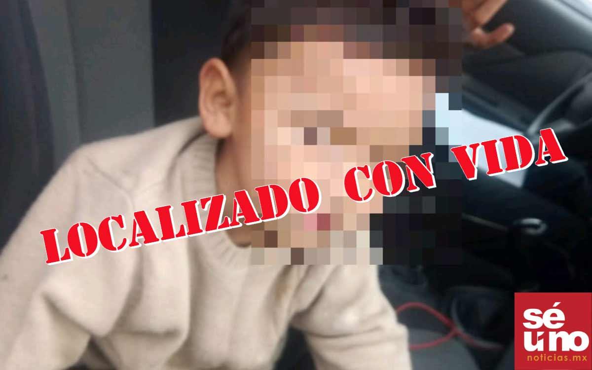 #Video Localiza a menor de 3 años de edad extraviado en Ecatepec