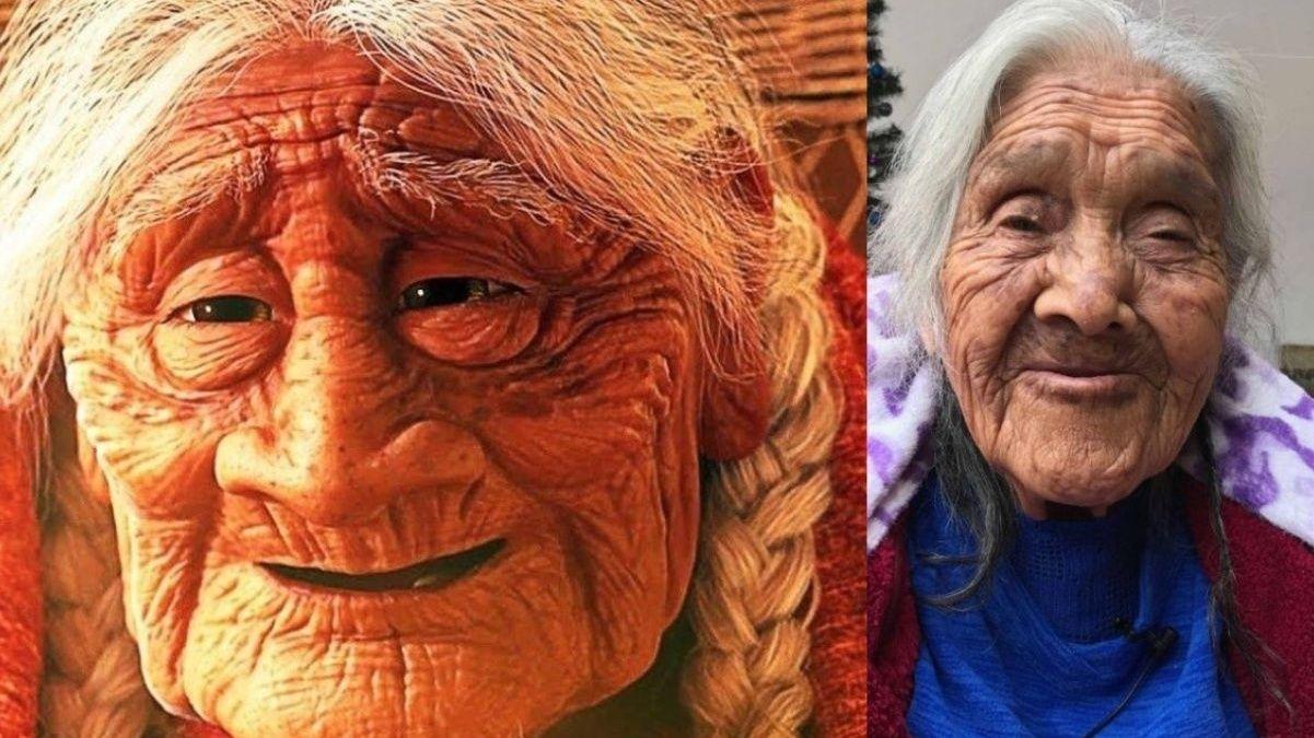 La verdadera 'Mamá Coco' celebra 108 años con pastel de su personaje
