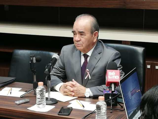 Conferencia de prensa del Pdte. De la Jucopo, Maurilio Hernández