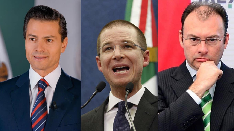 FGR acusará a Peña, Videgaray y Anaya por el delito de Delincuencia Organizada