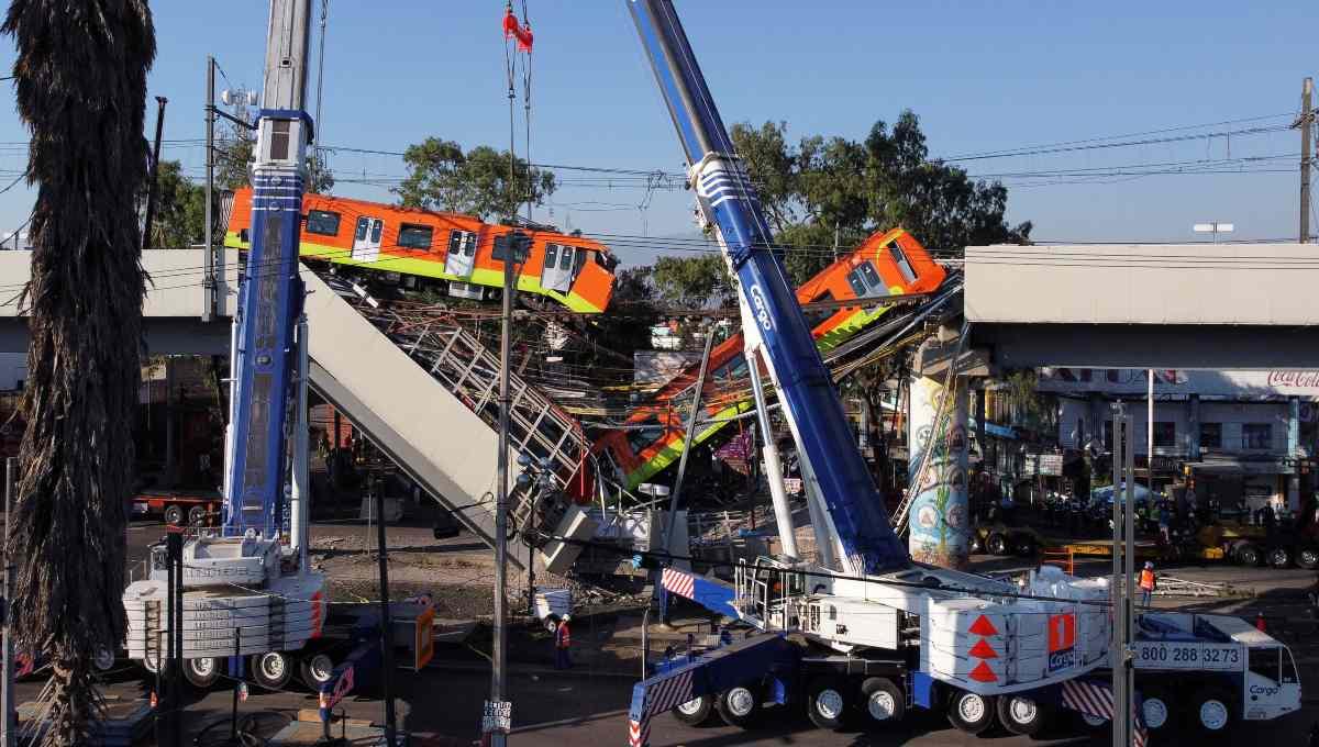 Colapso en la Línea 12 del Metro fue a causa de errores de construcción