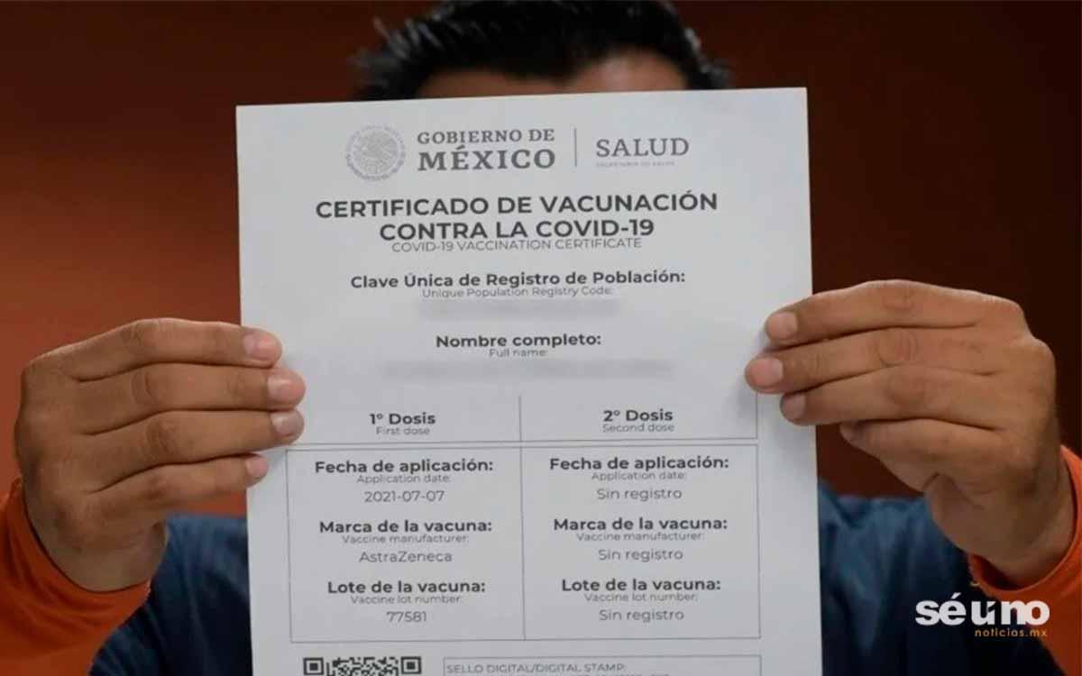¿Cómo obtengo mi certificado de vacunación Covid?