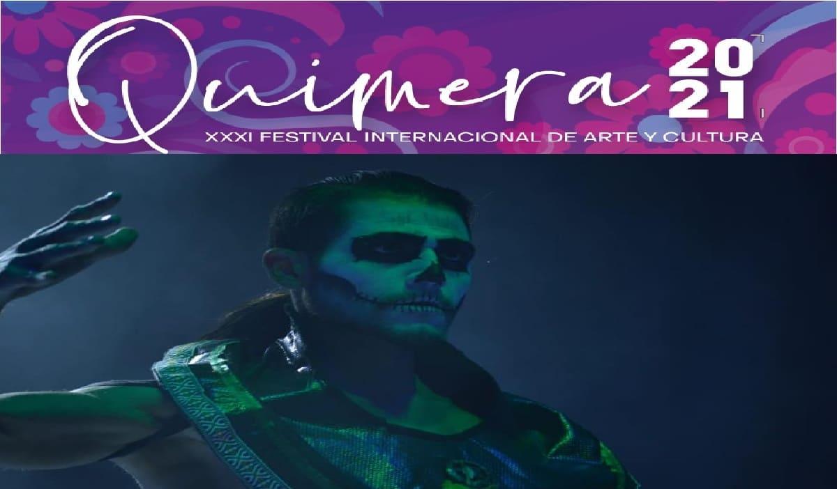 """""""Espacio Metepec 2021"""" recibe al festival internacional de arte y cultura quimera"""