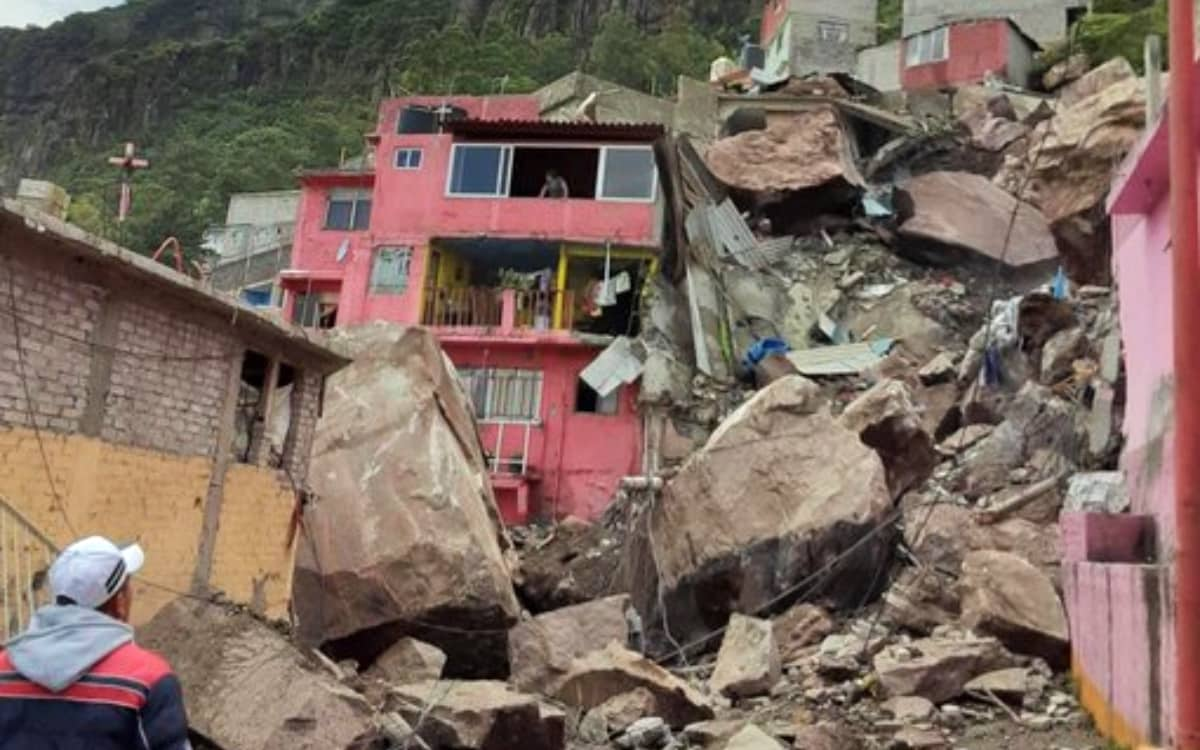 42 Familias afectadas del Cerro del Chiquihuite recibirán 30 mil pesos