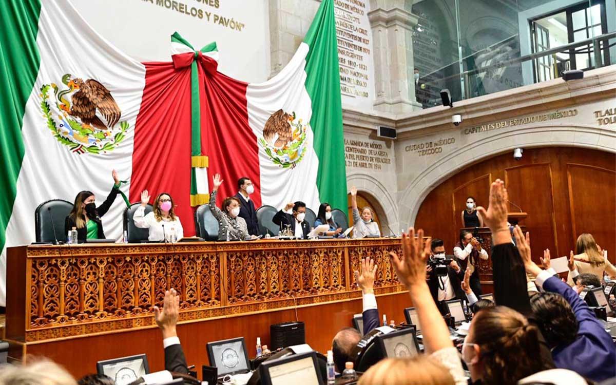Integran por unanimidad comisiones y comités del Congreso mexiquense