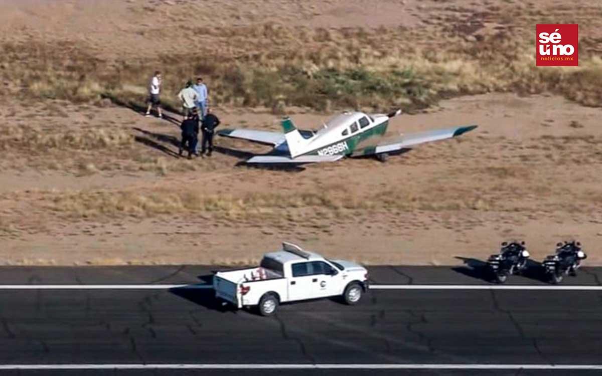 Un helicóptero y un avión colisionaron en el aire, hay dos muertos