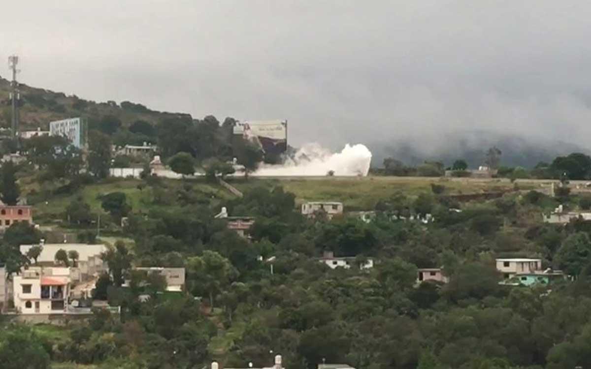 Vecinos de Tepeji del Río fueron evacuados por fuga en ducto de Pemex