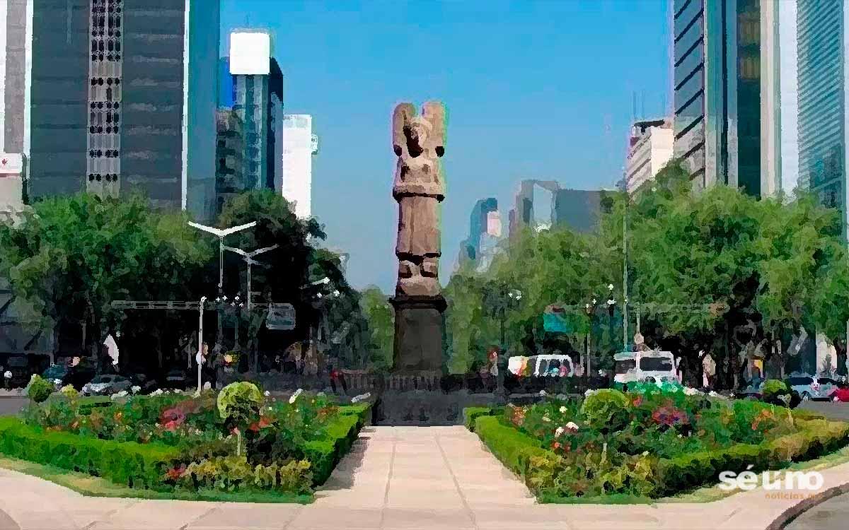 Ya hay escultura que sustituirá a Cristobal Colón en Paseo de la Reforma