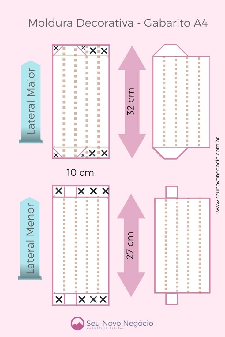 b5de1a603 Como Fazer Quadros Decorativos de Papel para Home Office - PAP