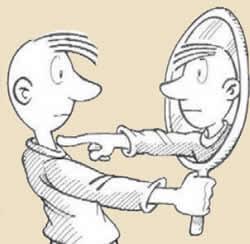 Quien soy, que eres tú, duda, espejo, autoreflexión, autoayuda, verdad, autoimagen, autoestima