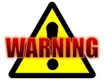 Warning, mistakes, carefully