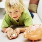 ahorro, enseñe a sus hijos, gastar sabiamente, ganar dinero,
