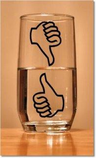 actitud, éxito, vaso medio lleno, agua, motivacional, superacion