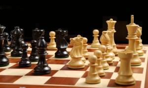 ajedrez, juego, lección