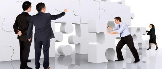 liderazgo, empresarial, empresarios, rompecabezas