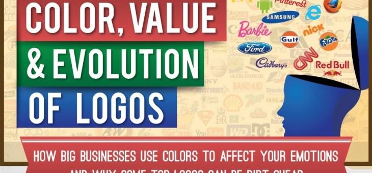 ¿Que es lo que el Color del Logo dice Acerca de su Negocio? – Infografía