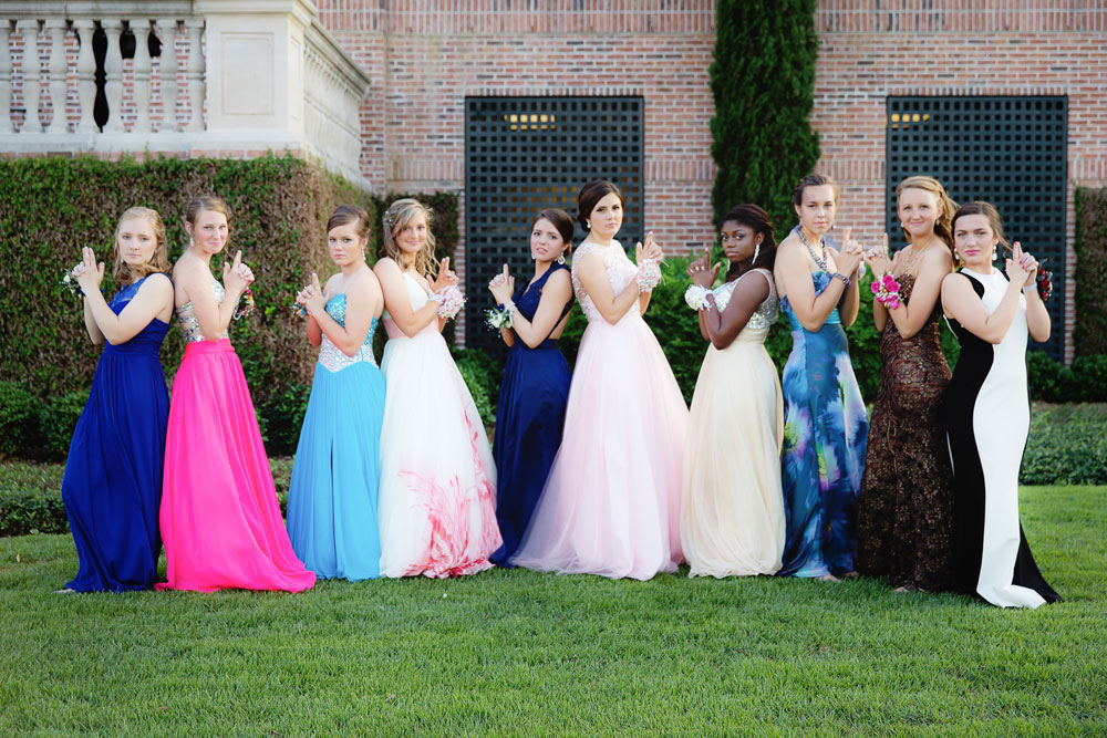 Dresses Prom Girls Colored