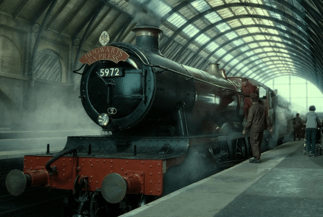 Image result for the hogwarts express