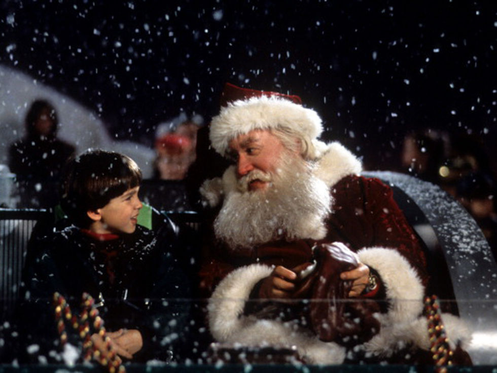 It's just not Christmas without The Santa Clause. After Santa falls off the roof, Scott Calvin (Tim Allen) becomes the new Santa Claus, and he and his son get to experience the magic of the North Pole. The only problem is, nobody believes he is Santa, not even Scott himself. This fun and feel-good flick is so loved that there have been two sequels!