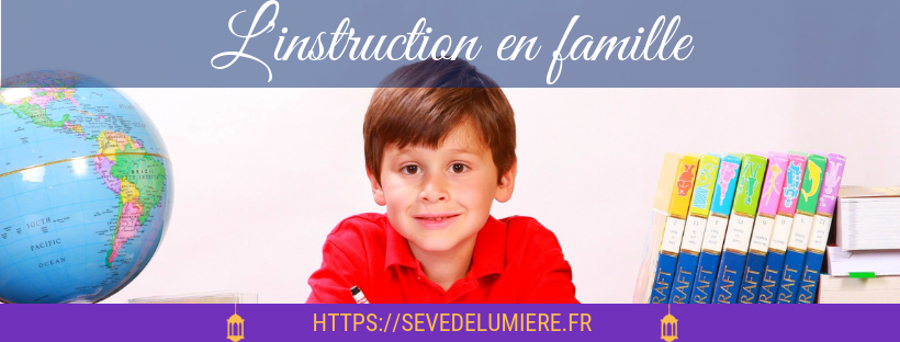 instruction en famille