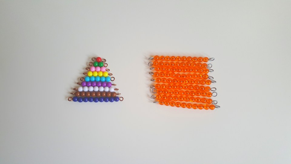 perles colorées montessori