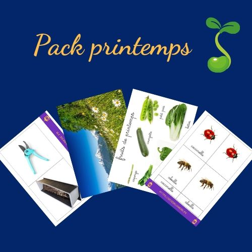 pack activités printemps