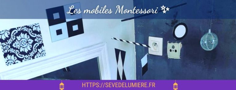 Les Mobiles Montessori - les présenter à bébé