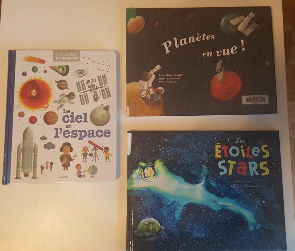 livres sur l'espace