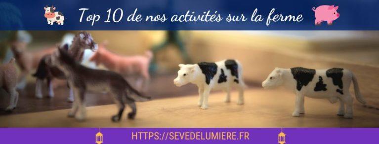 Top 10 de nos activités Montessori sur la ferme ! #animauxdelaferme #fermemontessori