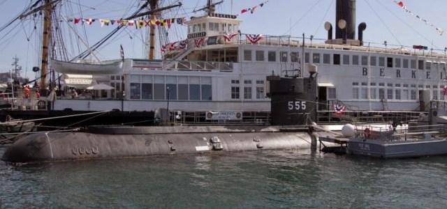 Морской музей Сан-Диего. Подлодка AGSS-555 (Dolphin)
