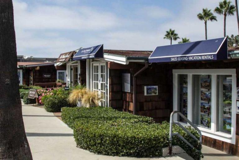 "Ла-Хойя (La Jolla) дом из ""Green Dragon Colony"" вид с Prospect St."