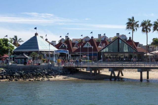 Коронадо (Coronado).  Ferry Landing - остановка парома
