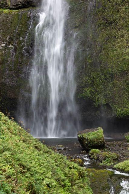 Орегон. Водопад Multnomah Falls