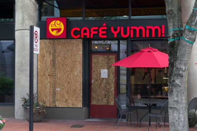 Портленд. Cafe Yumm!