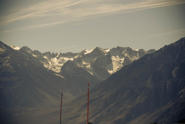 Калифорния. US-395. Сьерра-Невада (Sierra Nevada)