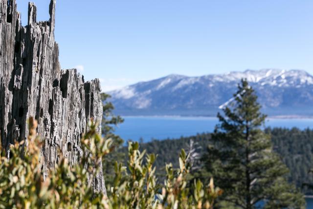 Озеро Тахо (Lake Tahoe) Emerald bay