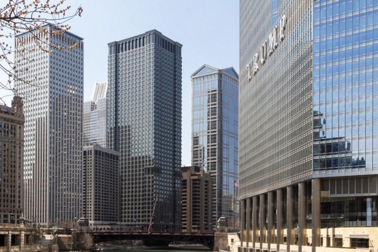 Чикаго Достопримечательности Река Чикаго Небоскребы
