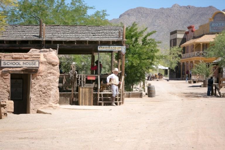 Аризона Тусон Old Tucson Studio