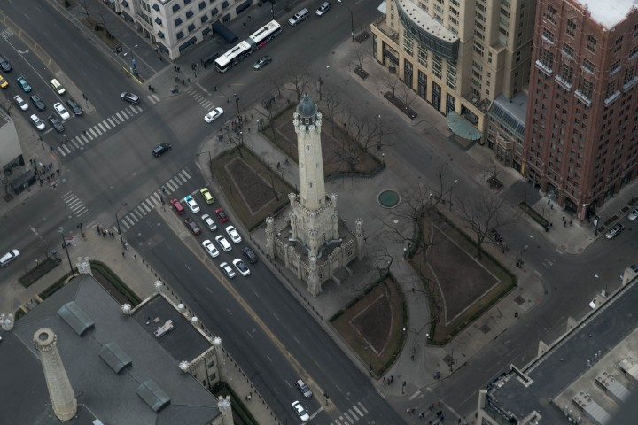 Чикаго. Старая водонапорная башня