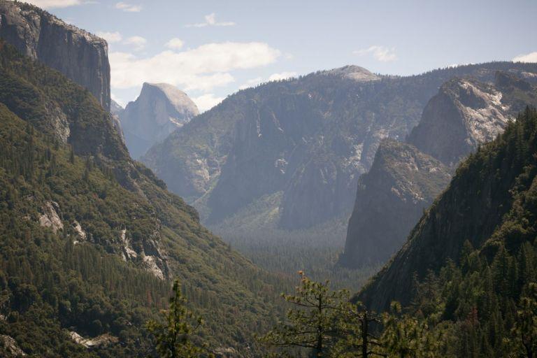 Йосемити парк. Tunnel View