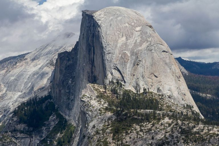 Йосемити парк. Гора Half Doom