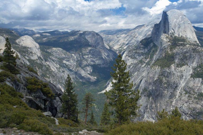 Йосемити парк. Вид с Glacier Point