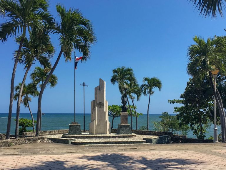 Санто-Доминго. Площадь Patriotica Presidente Juan Bosch
