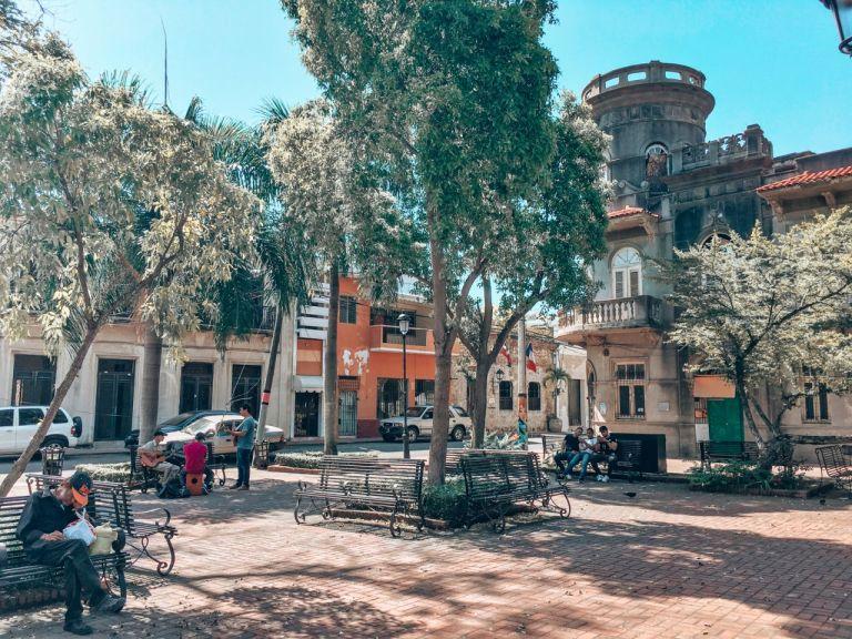 Площадь в Санто-Доминго