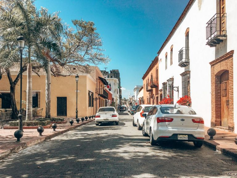Санто-Доминго. Одна из улиц Zona Colonial