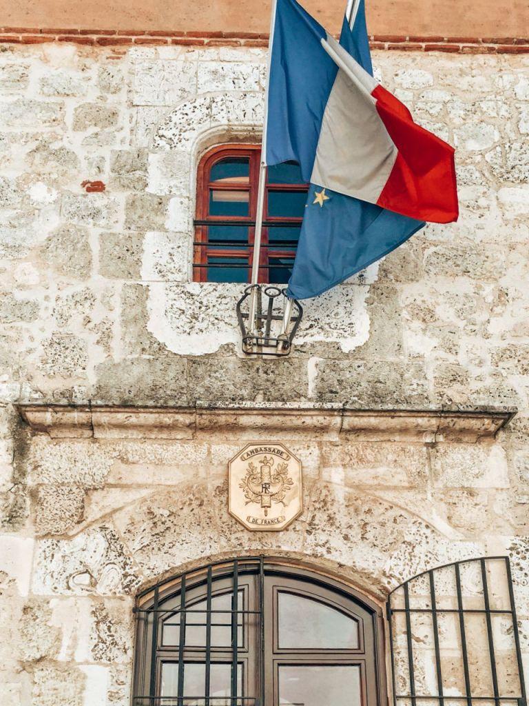 Санто-Доминго. Посольство Франции